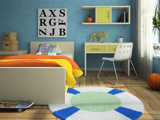 Consejos para elegir el suelo de una habitacion infantil